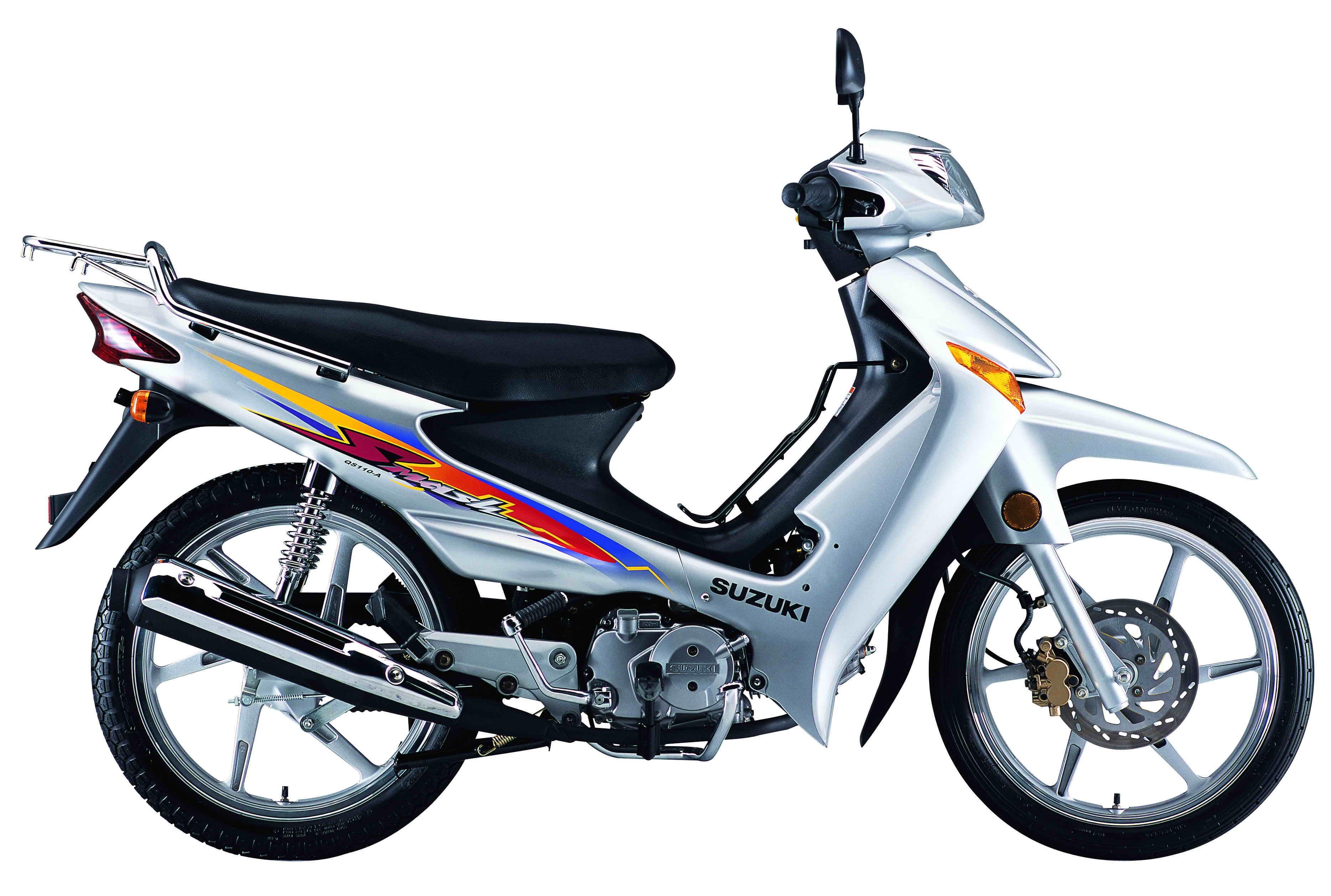 铃木摩托车国Ⅲ赛驰fd110弯梁摩托车 标准版; 铃木赛驰110摩托车;; 国